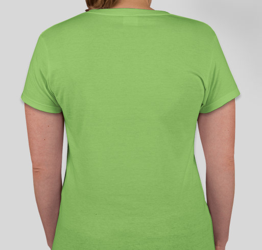 Lymphoma Awareness Fundraiser - unisex shirt design - back