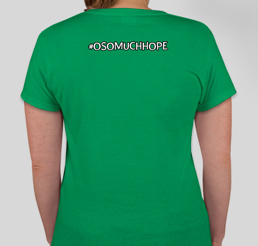 Oso Much Hope T-Shirt Fundraiser for Victims of the 530 Mudslide Fundraiser - unisex shirt design - back