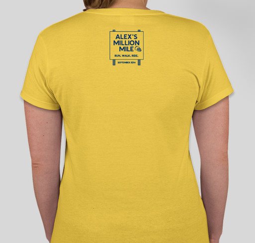 Proclaimers 2: Electric Boogaloo (Girls) Fundraiser - unisex shirt design - back