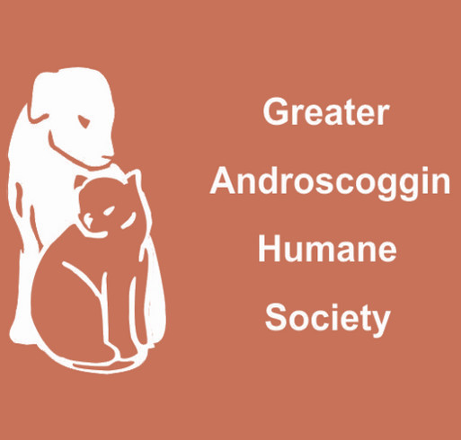 Greater Androscoggin Humane Society shirt design - zoomed