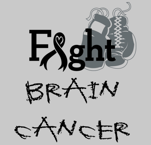 "Fighting Brain Cancer - ""Team Emma"" shirt design - zoomed"
