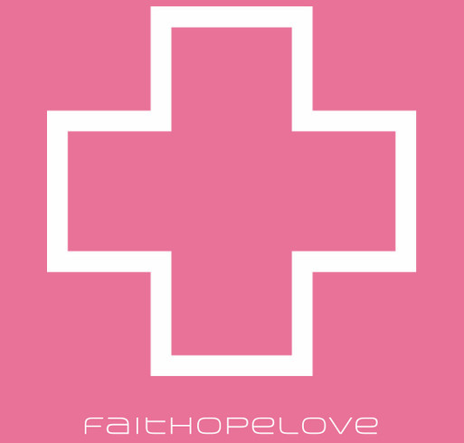 The FaithHopeLove Limited Edition Ladies t.shirt. shirt design - zoomed