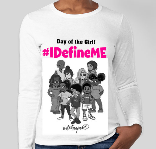 I Define ME Day of the Girl Fundraiser - unisex shirt design - small