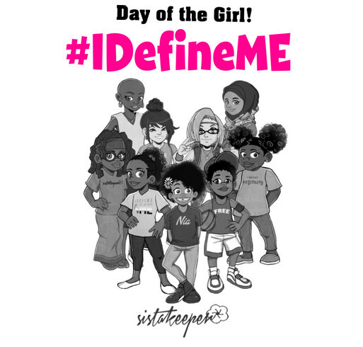 I Define ME Day of the Girl shirt design - zoomed