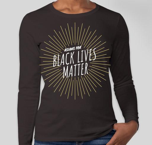 Asians for Black Lives Matter Fundraiser Fundraiser - unisex shirt design - front