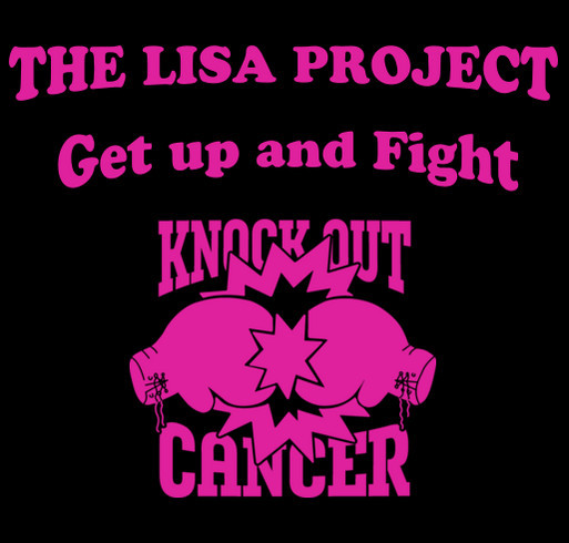 The Lisa Project Fundraiser shirt design - zoomed