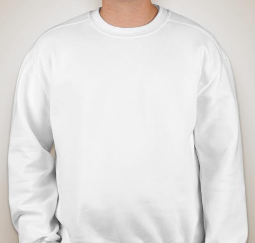 Gildan Premium Blend Crewneck Sweatshirt - White