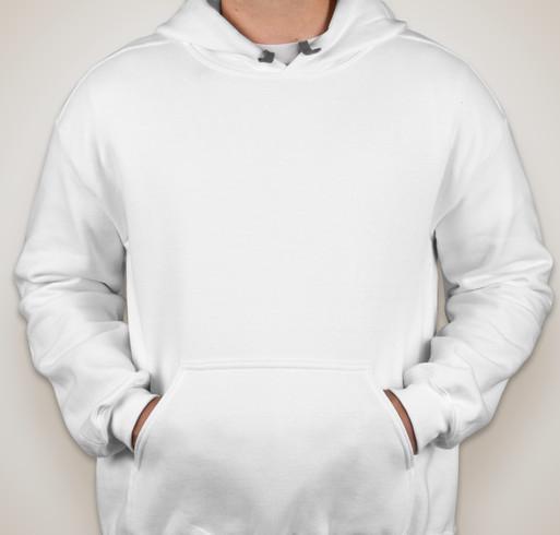 Gildan Premium Blend Hooded Sweatshirt - White