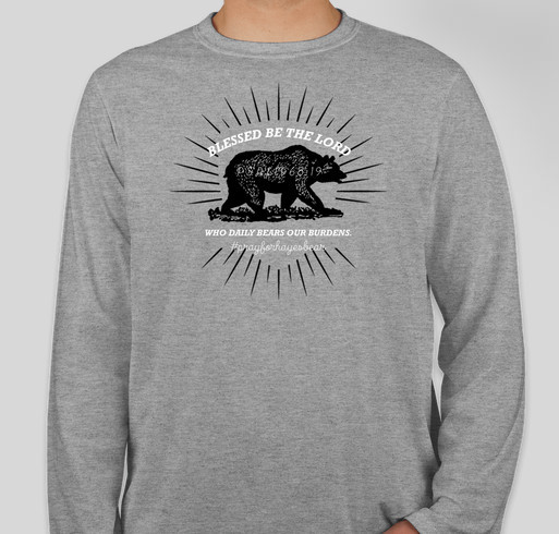 Still Praying for Hayes Bear Fundraiser - unisex shirt design - front