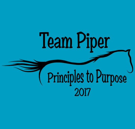 Team Piper 2017 shirt design - zoomed