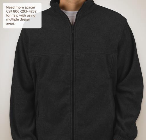 Harriton Full-Zip Fleece Jacket - Black
