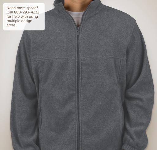 Custom Harriton Full-Zip Fleece Jacket - Design Fleece Jackets