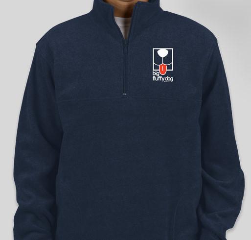 Harriton 1/4-Zip Fleece Pullover
