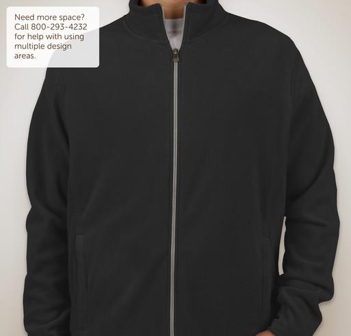 Port Authority Full-Zip Microfleece Jacket - White