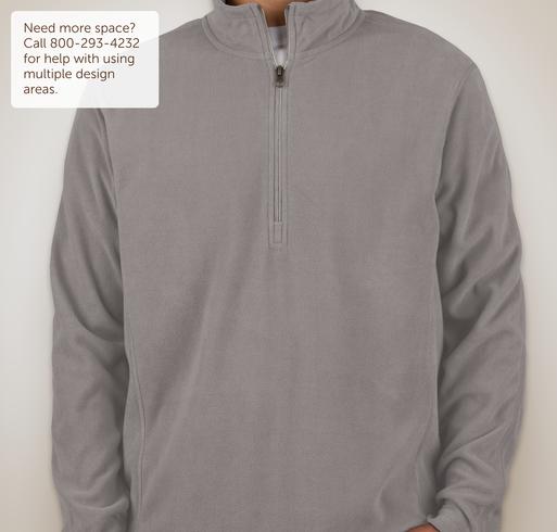Port Authority 1/4-Zip Microfleece Pullover - White