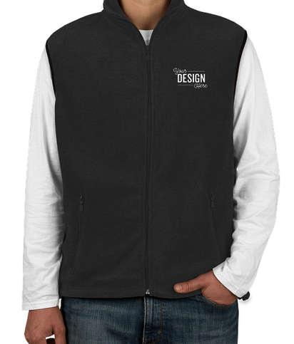 Harriton Fleece Vest - Black