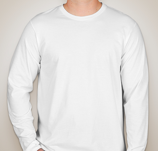 Hanes Long Sleeve Nano-T - White