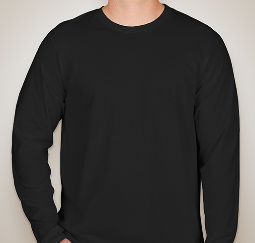 Hanes Long Sleeve Nano-T - Black