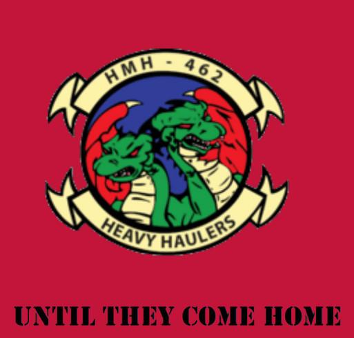 Heavy Haulers Remember Everyone Deployed shirt design - zoomed