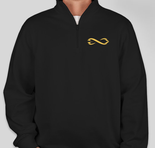 Hyperloop Quarter Zip Fundraiser - unisex shirt design - small