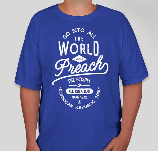 Dominican Republic Missions Trip Fundraiser - unisex shirt design - front