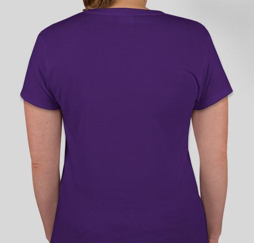 Rainbow Uprising of Consciousness Peace March Fundraiser - unisex shirt design - back