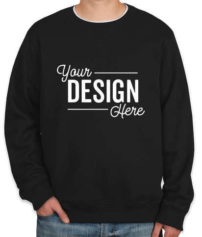 Sport-Tek Premium Crewneck Sweatshirt - Black