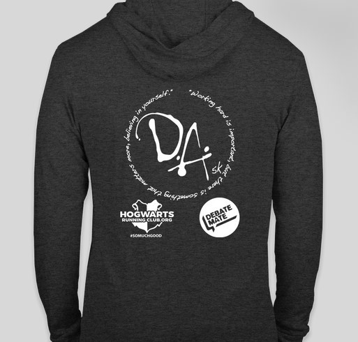 DA 5K Fundraiser - unisex shirt design - back