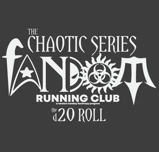 Hogwarts Running Club - Time Turner shirt design - zoomed