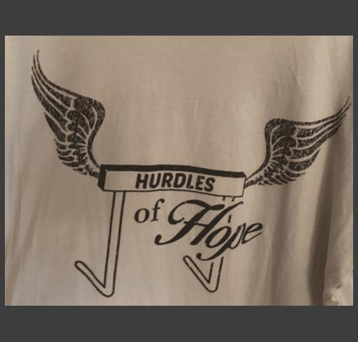 Hurdles of Hope shirt design - zoomed