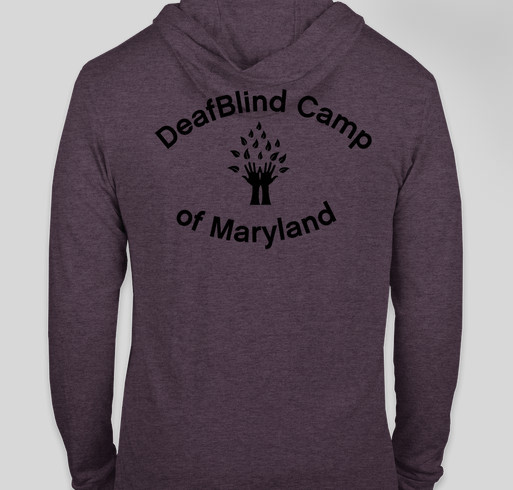 DeafBlind Camp of Maryland Fundraiser - unisex shirt design - back