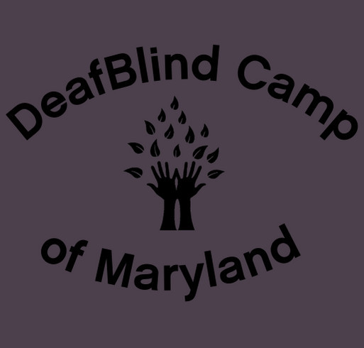 DeafBlind Camp of Maryland shirt design - zoomed