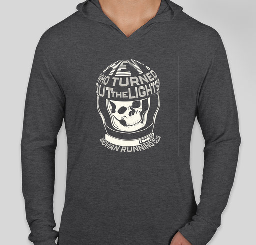 Next Level Tri-Blend Hooded Long Sleeve T-shirt