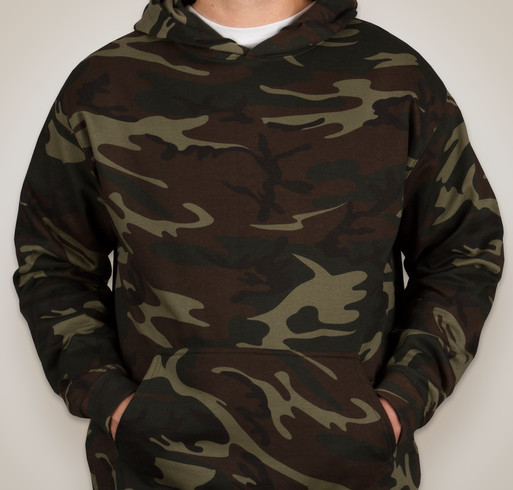 Code 5 Camo Hooded Sweatshirt - Sand Digital