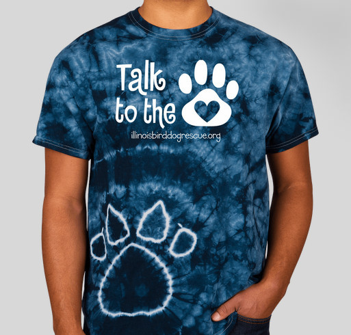 Talk to the PAW!! Fundraiser - unisex shirt design - front