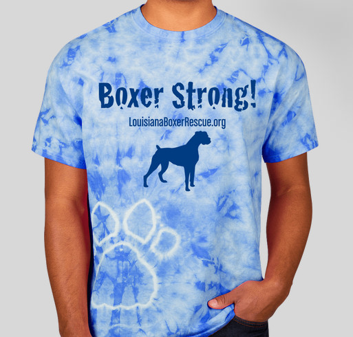 Boxer Strong! Fundraiser - unisex shirt design - front