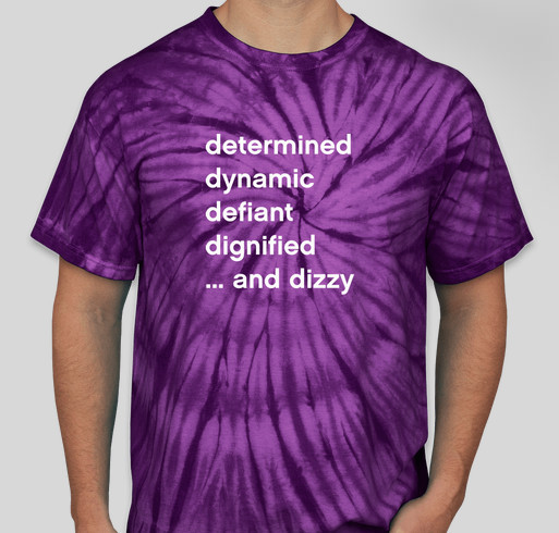 2016 Dysautonomia Awareness Month Fundraiser Fundraiser - unisex shirt design - front