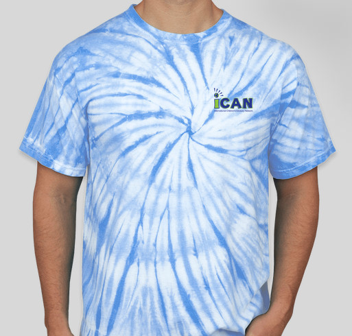 iCAN Spirit Wear Fundraiser - unisex shirt design - front