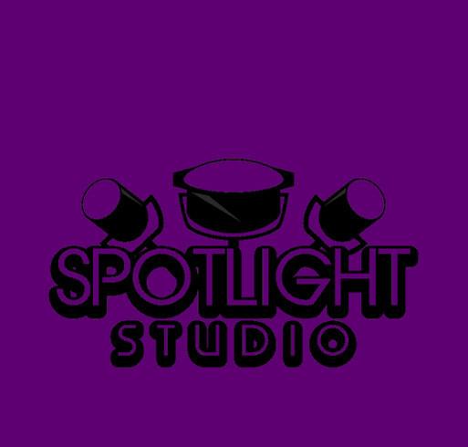 February Spotlight Studio T-Shirt Fundraising Opportunity! shirt design - zoomed