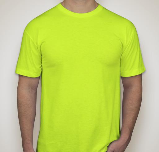 American Apparel Neon 50/50 T-shirt - Neon Yellow