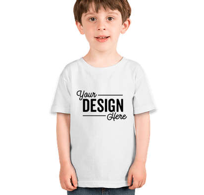 Gildan Toddler 100% Cotton T-shirt - White
