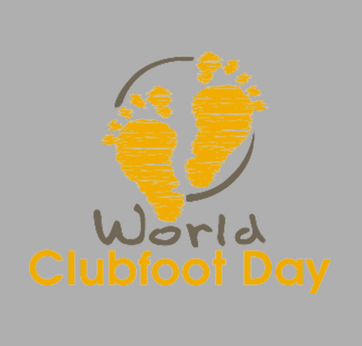 World Clubfoot Day! shirt design - zoomed