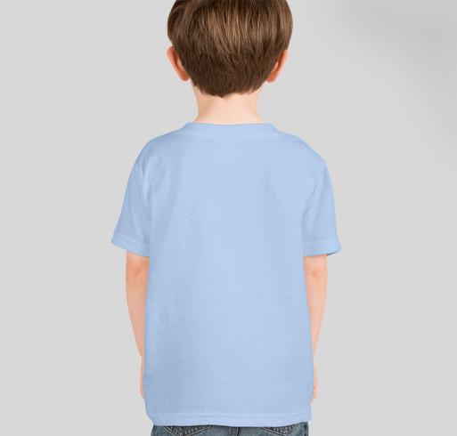 Go Hugo! Fundraiser - unisex shirt design - back