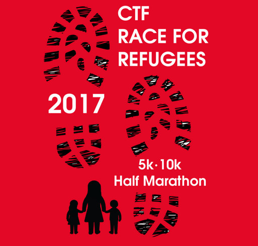 Carry the Future 2017 Race for Refugees - Kids shirt design - zoomed