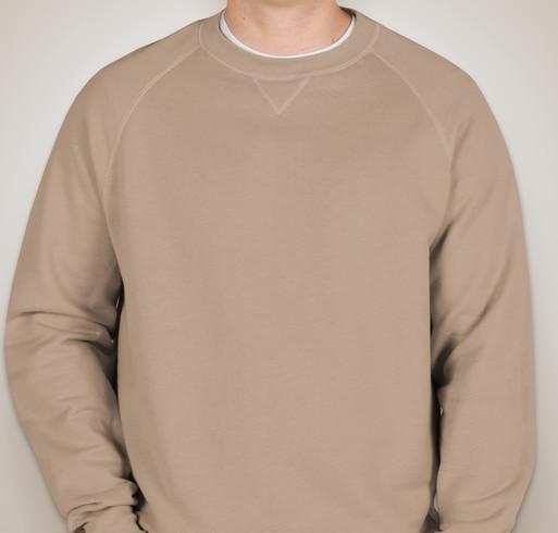 Hanes Nano Crewneck Sweatshirt - White