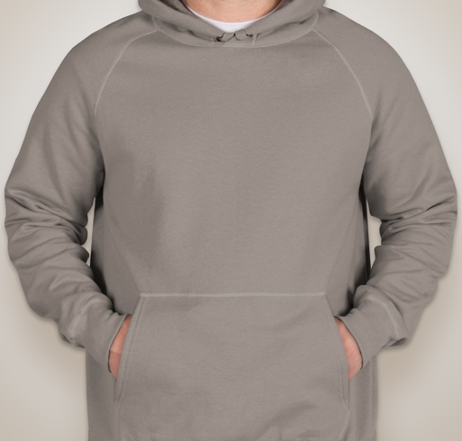 Hanes Nano Hooded Sweatshirt - White