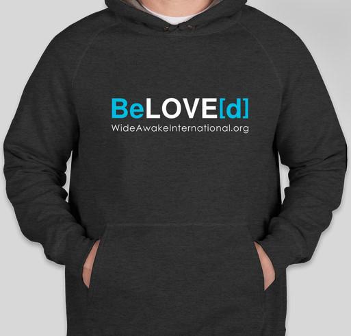 Wide Awake International: BeLOVE[d] Fundraiser - unisex shirt design - front