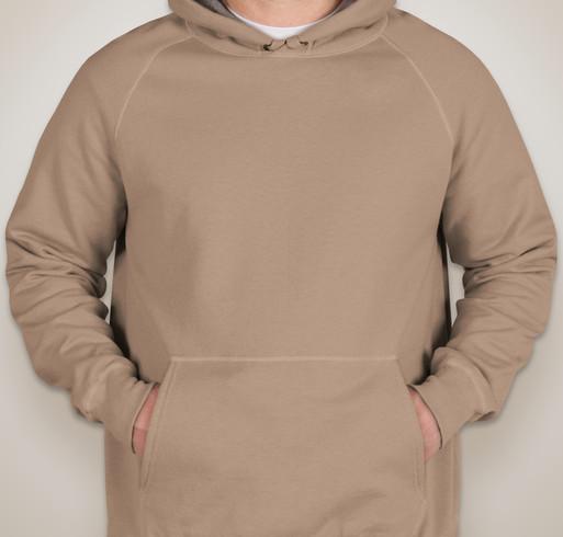 Hanes Nano Hooded Sweatshirt - White