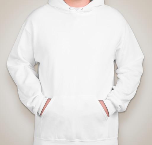 Jerzees Nublend® 50/50 Tall Hooded Sweatshirt - White
