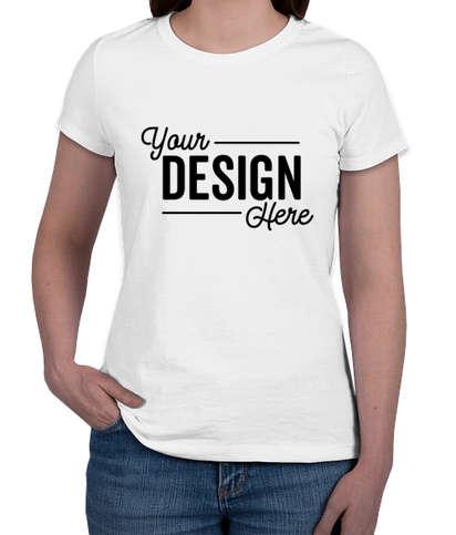 Jerzees Women's 50/50 T-shirt - White